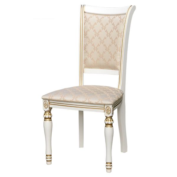 Купить деревянный стул с мягкой спинкой.