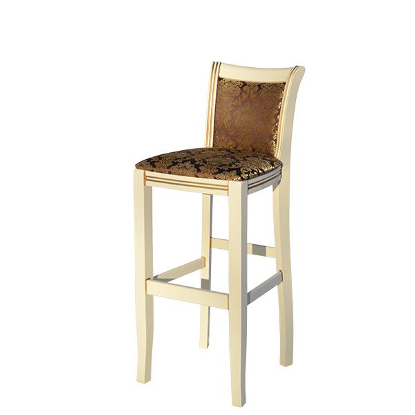 Барный стул мягкий.