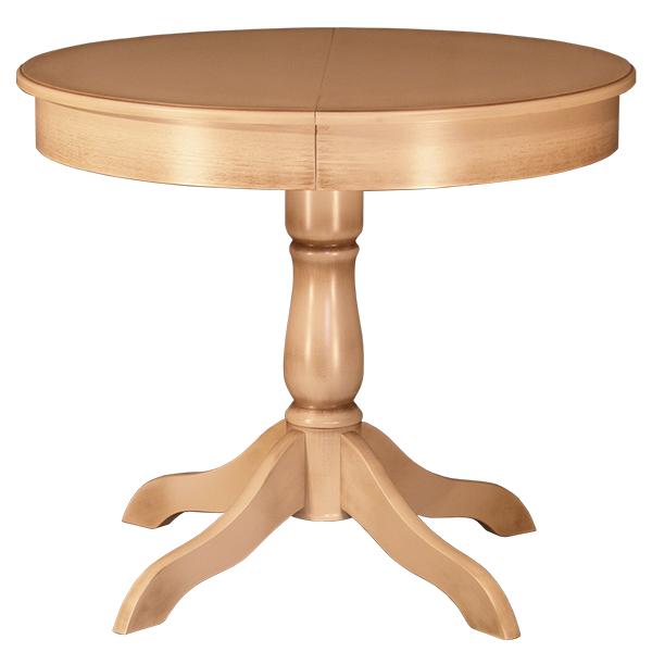 Купить стол круглый раздвижной на одной ножке.